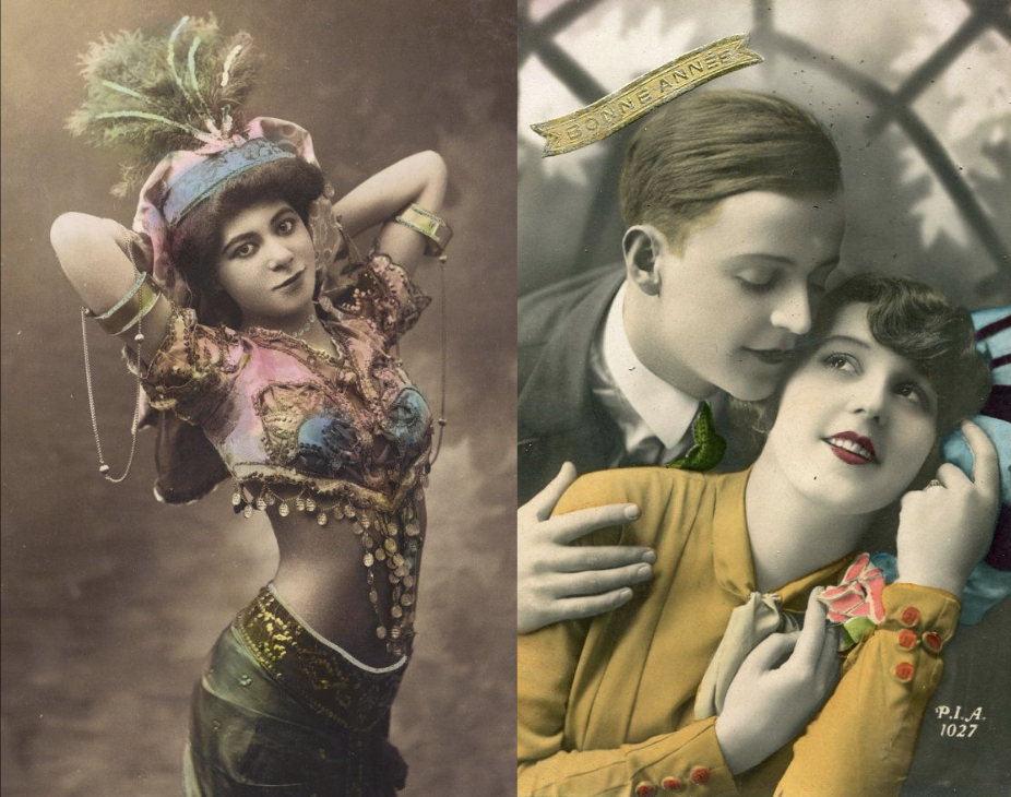 examples of hand tinted photography