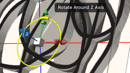 rotate around z axis